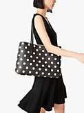 all day sunshine dot large tote, , s7productThumbnail