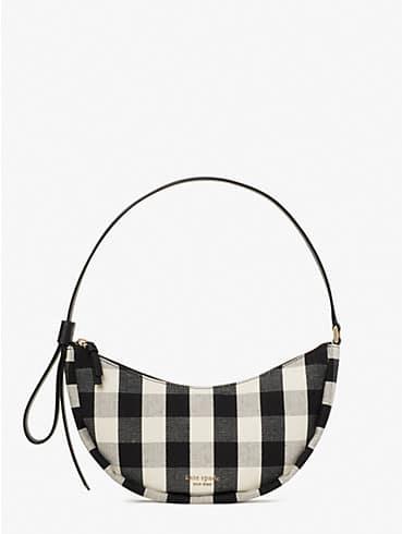 smile gingham small shoulder bag, , rr_productgrid