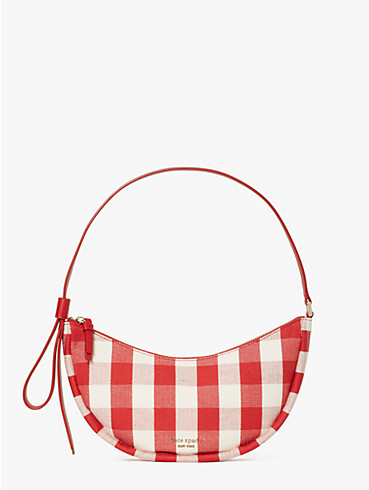 smile gingham small shoulder bag, , rr_productgrid
