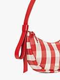smile gingham small shoulder bag, , s7productThumbnail