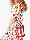 picnic gingham small bucket bag, , s7productThumbnail