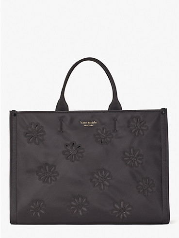 the little better sam embroidered nylon large tote, , rr_productgrid