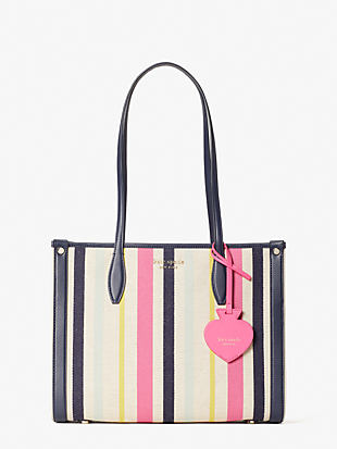 market stripe medium tote by kate spade new york non-hover view