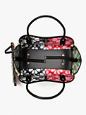 spade flower raffia everything medium tote, , s7productThumbnail