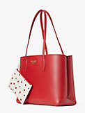 all day lady bug dots large tote, , s7productThumbnail