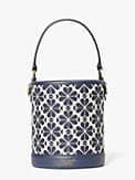 spade flower jacquard picnic small bucket bag, , s7productThumbnail