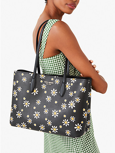all day daisy dots large tote, , rr_productgrid