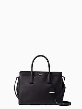 cameron street candace satchel, black, medium