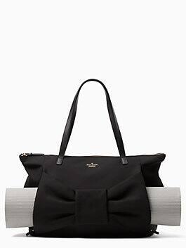 haring lane kenna yoga bag, black, medium