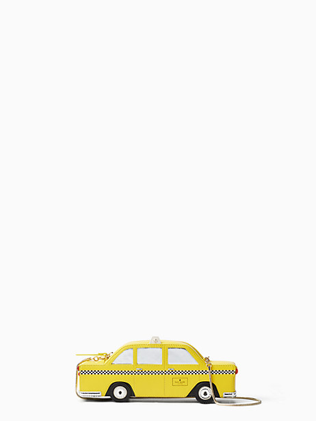 nouveau york taxi clutch by kate spade new york