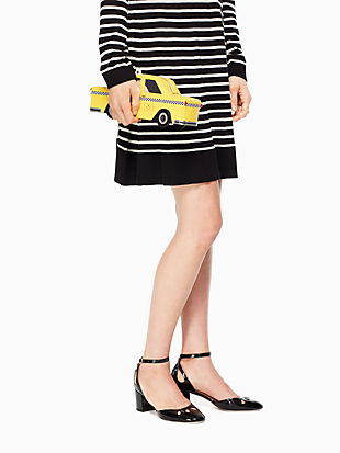nouveau york taxi clutch by kate spade new york hover view