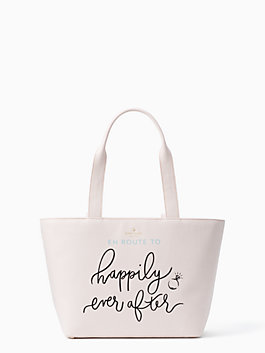 wedding belles happily ever after tote, multi, medium