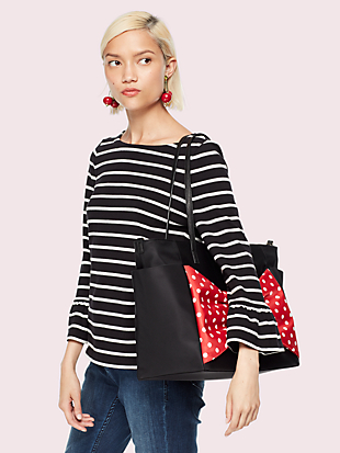 kate spade new york x minnie mouse bethany baby bag by kate spade new york hover view