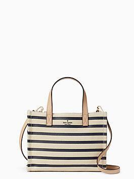 washington square sam, rich navy stripe, medium