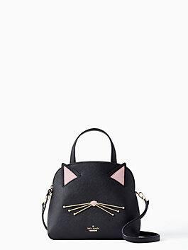 cat's meow small lottie, black, medium