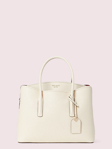 margaux large satchel, bare, large by kate spade new york
