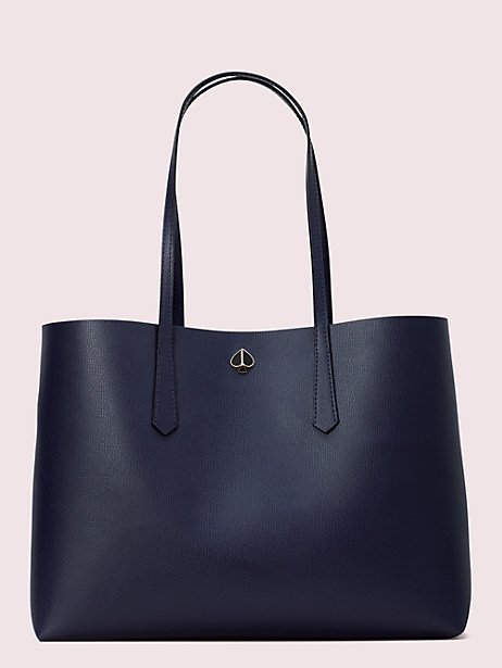 molly large tote, blazer blue, large by kate spade new york