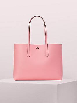 molly large tote, rococo pink, medium