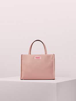 sam nylon medium satchel, madison rouge, medium