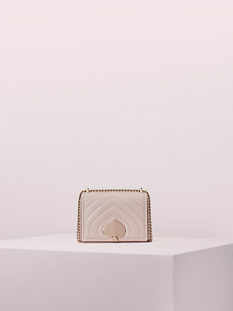 amelia small convertible chain shoulder bag, tusk, large by kate spade new york