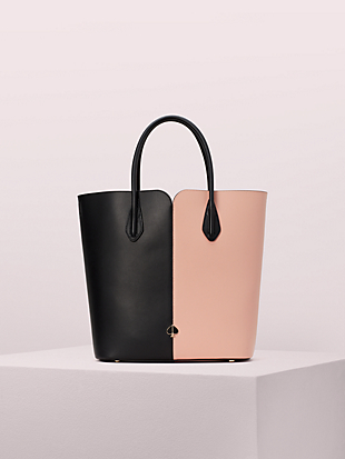 nicola bicolor large tote by kate spade new york non-hover view