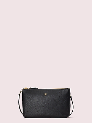 polly medium double gusset crossbody by kate spade new york non-hover view