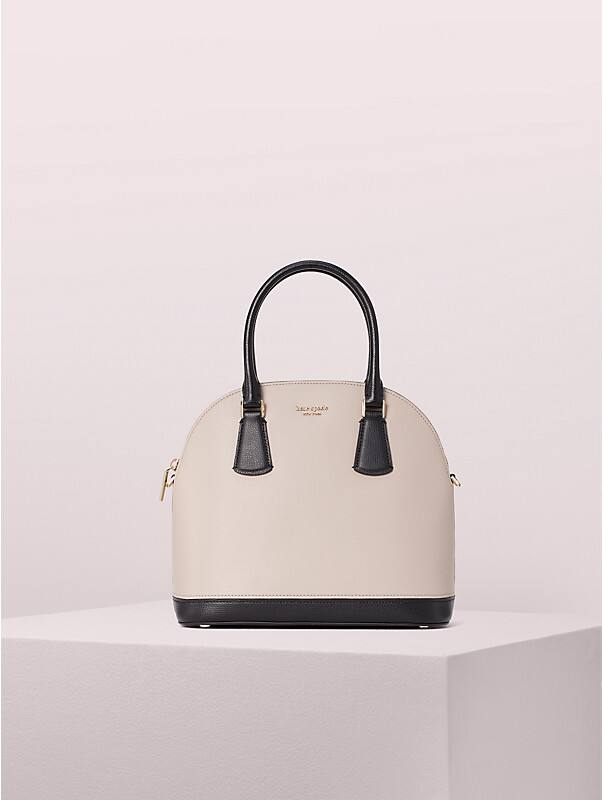 sylvia large dome satchel, , rr_large