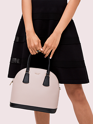 sylvia large dome satchel by kate spade new york hover view
