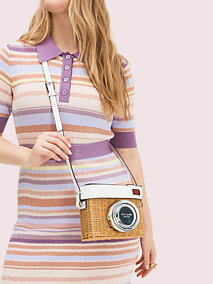 rose camera bag by kate spade new york hover view