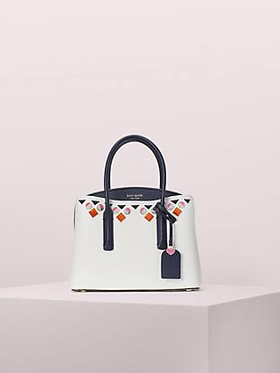 margaux jeweled medium satchel by kate spade new york non-hover view