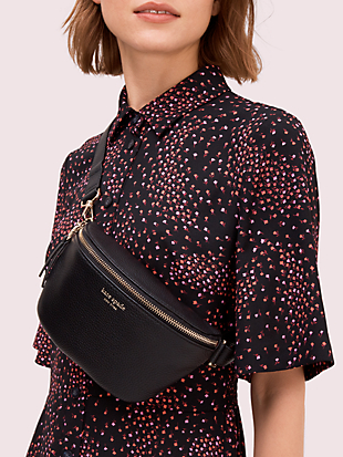 polly medium belt bag by kate spade new york hover view