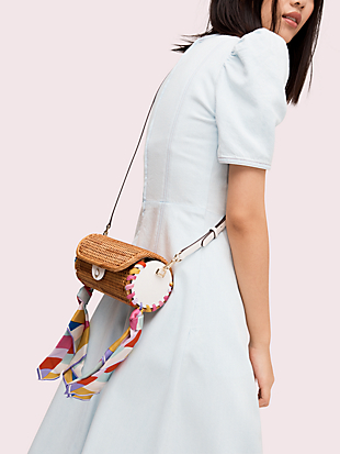 rose cylinder crossbody by kate spade new york hover view