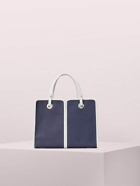sam canvas plunge medium satchel by kate spade new york
