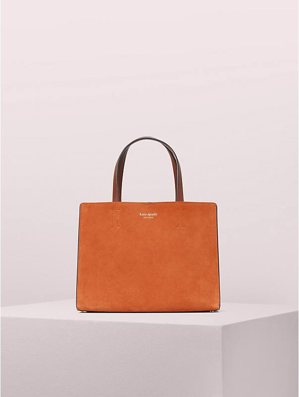 sam suede medium satchel, , rr_large