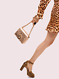 amelia jeweled twistlock small convertible chain shoulder bag, , s7productThumbnail