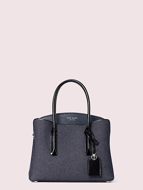 margaux denim medium satchel by kate spade new york