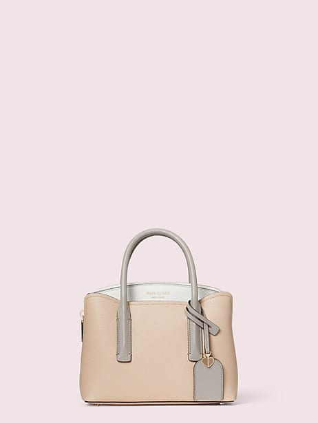margaux mini satchel, blush multi, large by kate spade new york