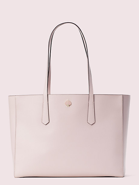 molly large work tote, tutu pink, large by kate spade new york