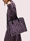 morley leopard large tote, , s7productThumbnail