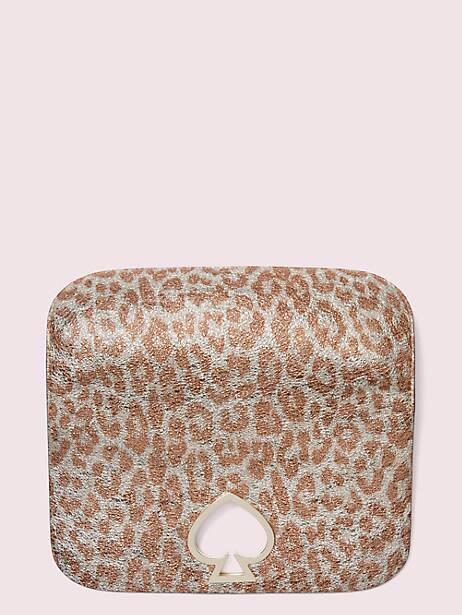 make it mine metallic leopard flap by kate spade new york