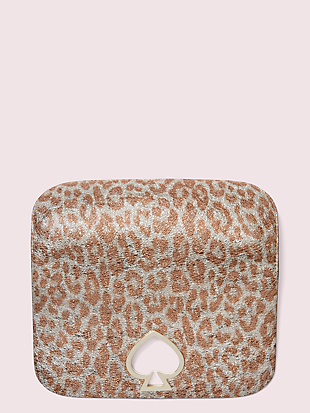 make it mine metallic leopard flap by kate spade new york non-hover view