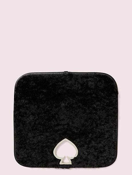 make it mine faux shearling flap by kate spade new york