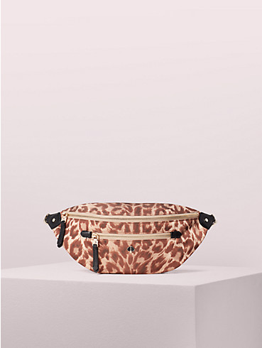 taylor leopard large belt bag, , rr_productgrid