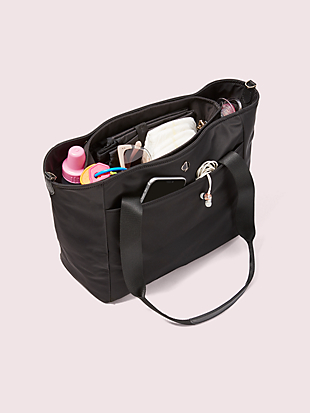 taylor large diaper bag by kate spade new york hover view