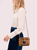 nicola snake embossed twistlock small convertible chain shoulder bag, , s7productThumbnail