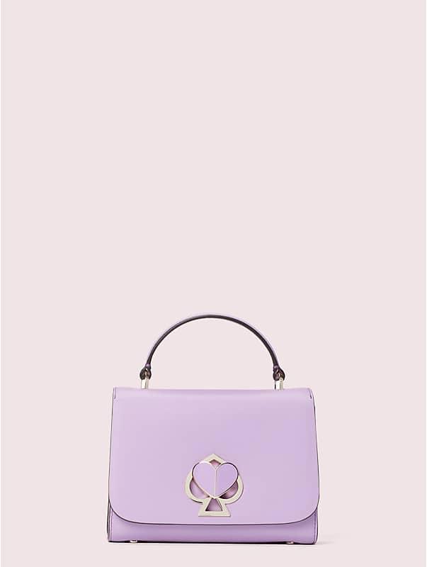 nicola twistlock small top handle bag, , rr_large