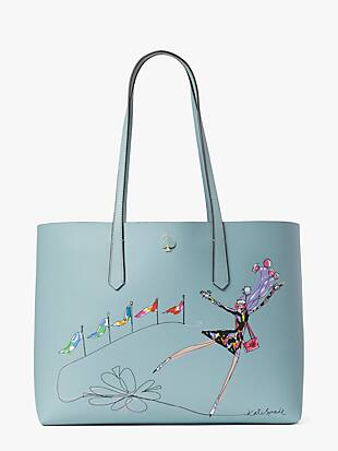 rock center skater large tote by kate spade new york non-hover view