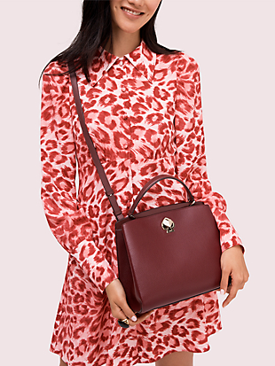 romy medium satchel by kate spade new york hover view