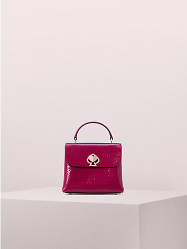 romy croc-embossed mini top-handle satchel, , rr_productgrid