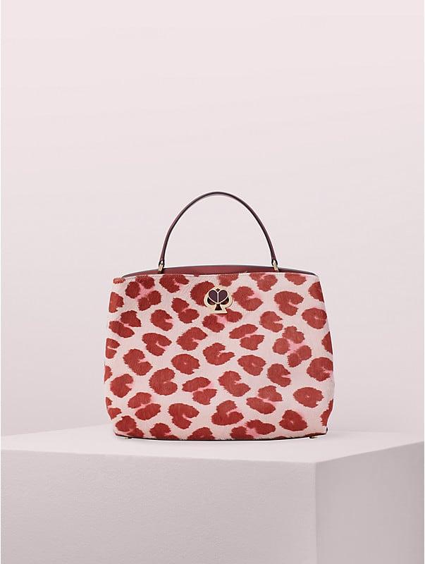 romy haircalf medium satchel, , rr_large